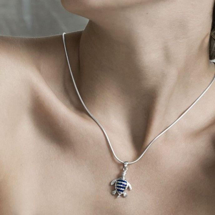 c69887c112750 Turtle Necklace - Tortoises and Terrapins included