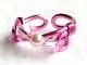 Agalil rose pink handmade toe ring