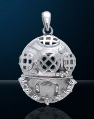 Premium Jewelry Diving Helmet Pendant PA 715