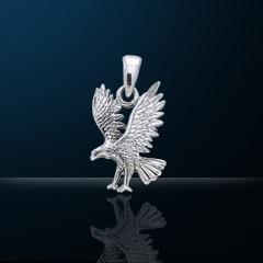 Premium Jewelry Alloy Falcon Pendant PA 5820