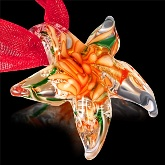 Glass Starfish Necklace 544