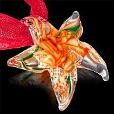 Glass Starfish Necklace 544
