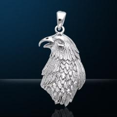 Premium Jewelry Alloy Golden Eagle Pendant PA 5524