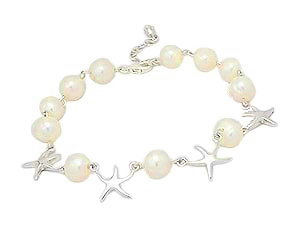 Sea Star Fresh Water Pearl Bracelet 151