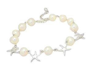Sea Star Fresh Water Pearl Bracelet 151