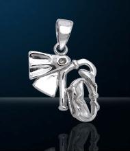 Premium Jewelry Alloy Snorkel Gear Pendant PA 732