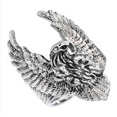 Stainless Steel Bald Eagle Ring 031