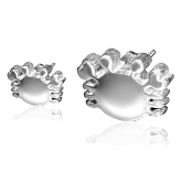 Stainless Steel Crab Post Earrings 291