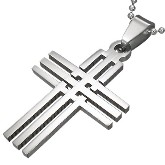 Stainless Steel Cross Pendant 621