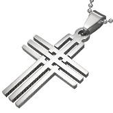 Stainless Steel Cross Pendant 621