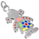 Stainless Steel Girl Charm 311