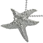 Stainless Steel Starfish Necklace 521
