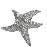 Stainless Steel Starfish Pendant 521
