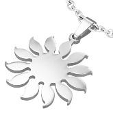 Stainless Steel Sun Pendant 570