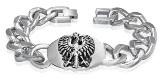 Stainless Steel White Eagle Bracelet 920