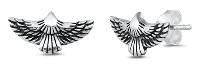 Sterling Silver Eagle Post Earrings SIE5161