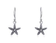 Sterling Silver Starfish Earrings PE33423