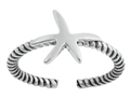Sterling Silver Starfish Toe Ring SITR6070