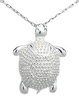 Sterling Silver Terrapin Necklace 362