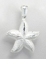 Sea Star Sterling Silver Pendant 870