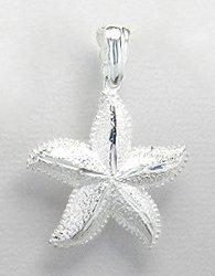 Sea Star Sterling Silver Pendant 870