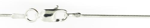 sterling silver brazilian chain enlarged