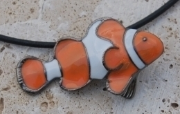Clown Fish Necklace R30