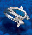 dolphin sterling silver rings