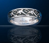 sterling silver dolphin rings DGDR 151