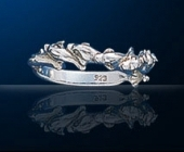 sterling silver dolphin rings DGDR 242