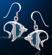 Angelfish Earrings DE 097