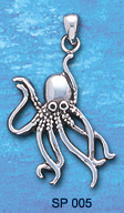 octopus pendant SP 005