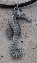 Pewter Seahorse Necklace R10