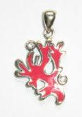 pink coral pendant TP 2642