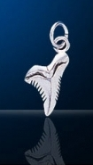 sterling silver shark tooth charm DC 149