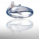 dolphin sterling silver rings DSDR 346