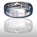 dolphin sterling silver ring DGDR 603
