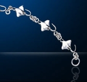 Sterling Silver Manta Ray Bracelet DB 445