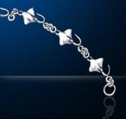 Sterling Silver Manta Ray Bracelet DB 445