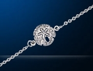 sterling silver turtle bracelet DB 010