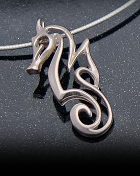 sea life jewelry necklace