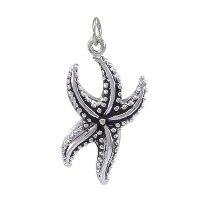 Sterling Silver Starfish Charm DC 5107
