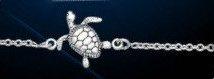 sterling silver turtle bracelet DB 803