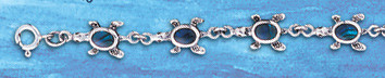 sterling silver kissing dolphin bracelet DB 823
