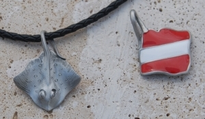 Stingray Necklace R41