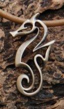 Bronze Pendant Seahorse Necklace