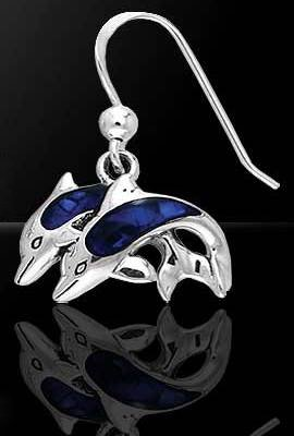 marine life jewelry earring