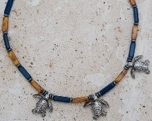 Sea Turtles Necklace RN05