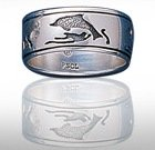 sterling silver dolphin rings DGDR 1107
