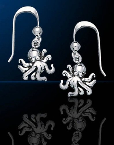 sterling silver octopus jewelry